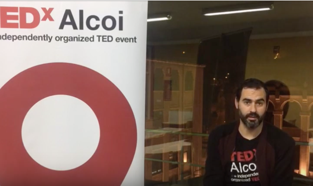 TEDxAlcoi Voluntarios – David Pla