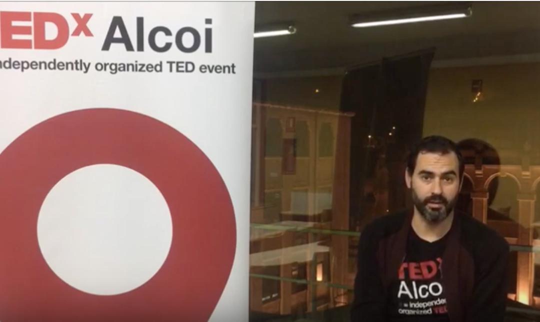 TEDxAlcoi Voluntarios – David Pla